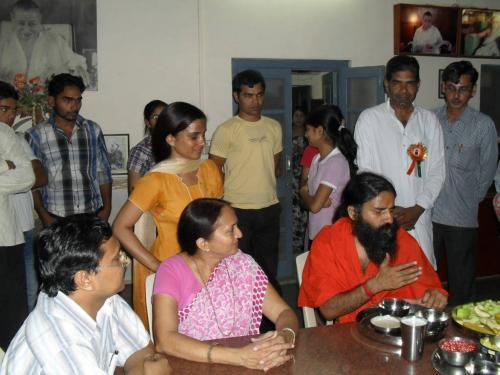 Baba Ramdev Ashram Visit (2)