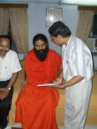 Baba Ramdev Ashram Visit (22)