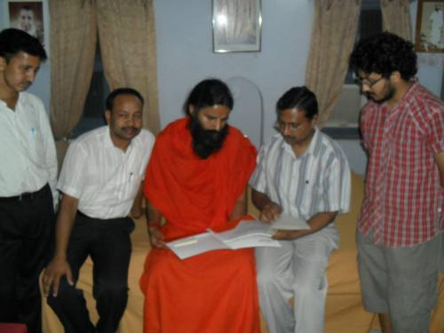 Baba Ramdev Ashram Visit (24)