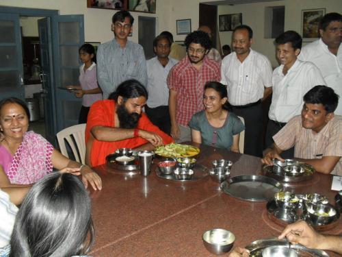 Baba Ramdev Ashram Visit (29)