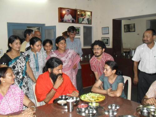 Baba Ramdev Ashram Visit (3)