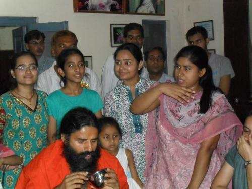 Baba Ramdev Ashram Visit (4)