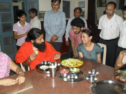 Baba Ramdev Ashram Visit (1)