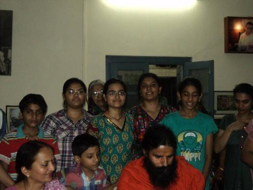 Baba Ramdev Ashram Visit (12)