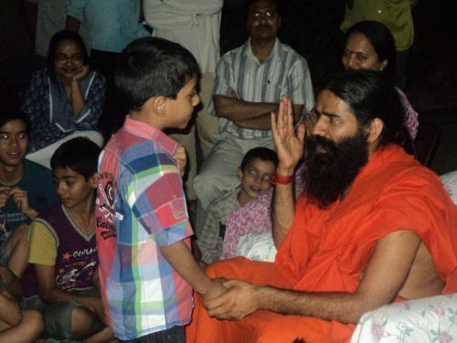 Baba Ramdev Ashram Visit (14)