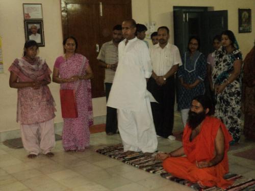 Baba Ramdev Ashram Visit (19)