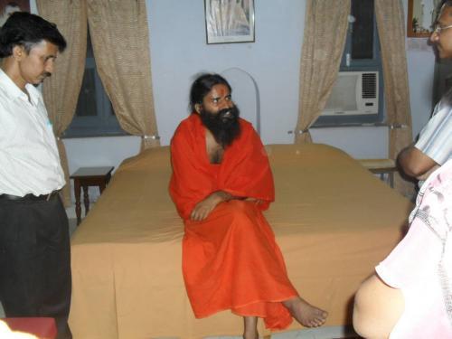 Baba Ramdev Ashram Visit (21)