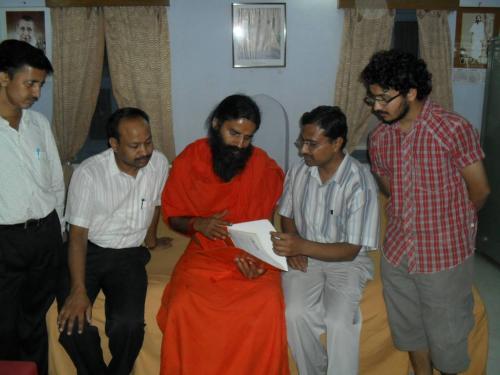 Baba Ramdev Ashram Visit (23)