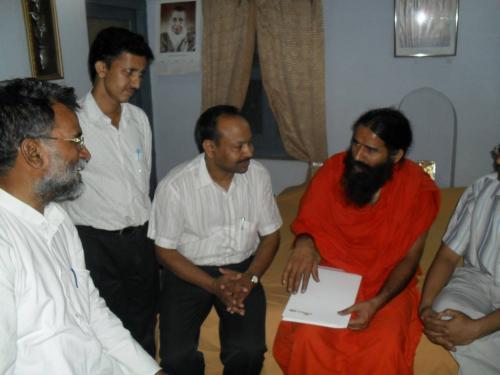 Baba Ramdev Ashram Visit (25)