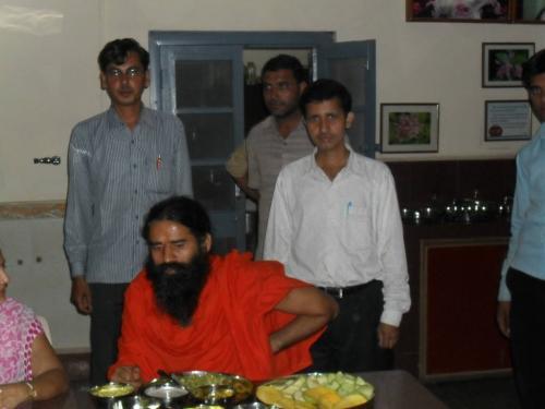 Baba Ramdev Ashram Visit (27)