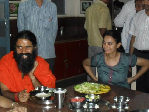 Baba Ramdev Ashram Visit (28)