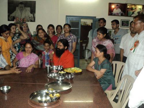 Baba Ramdev Ashram Visit (7)