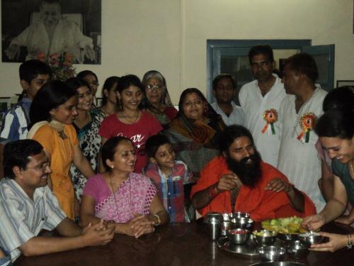 Baba Ramdev Ashram Visit (9)